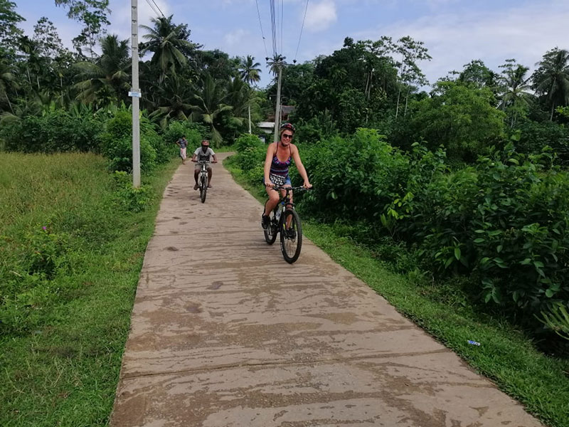 Explore country side of Galle by Cycles with a villager, Cycling in Galle, Country side Cycling in Galle, Galle Cycling, Cycling, Galle, Sri Lanka Country side cycling