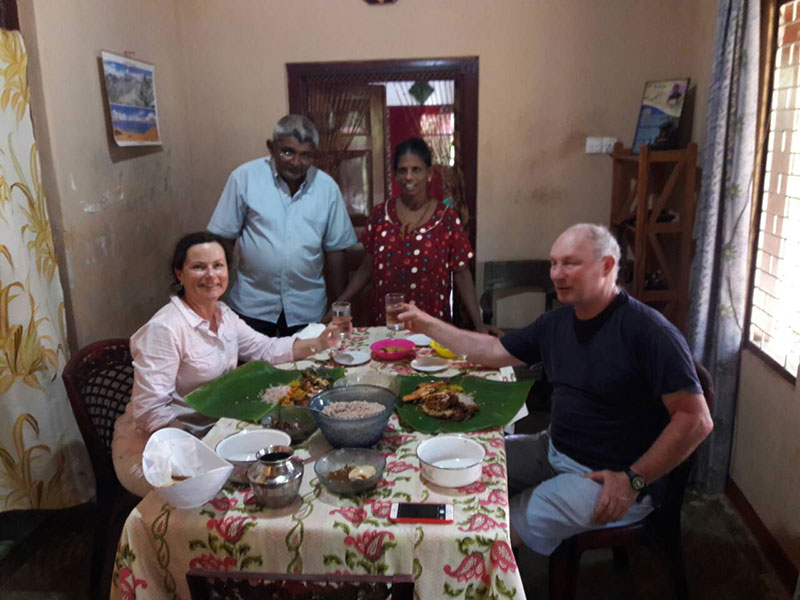 Explore Jaffna by cycles with a villager followed by a home cooked authentic Jaffna meal, Authentic Jaffna meal in Sri Lanka, Authentic meal in Sri Lanka, Authentic Experience Sri Lanka, Jaffna Tours Sri Lanka, Authentic Tours Jaffna