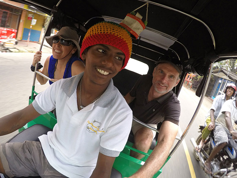 Galle countryside by Bus, Cycle and Tuk Tuk -  Cycling in Galle - Cycle to galle